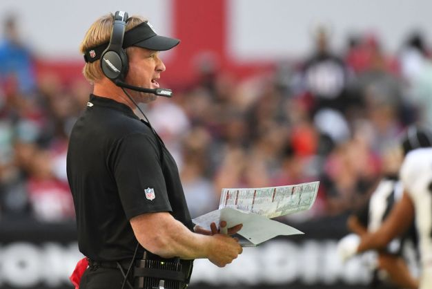NFL Admits Raiders' Early Schedule Isn't Entirely Fair