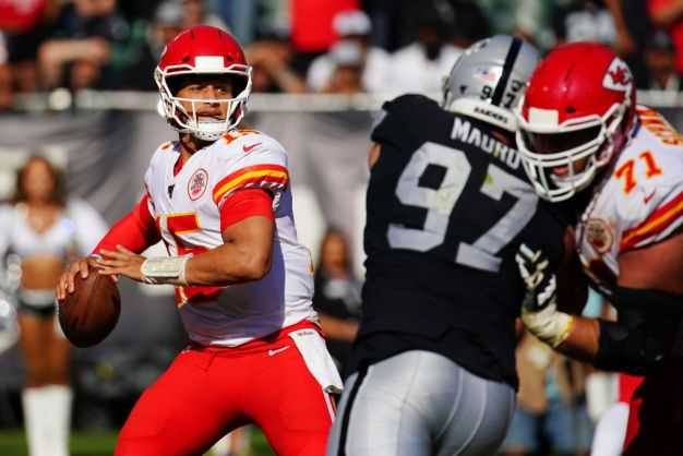 The Good News: Raiders Only Have to Face Mahomes Once More