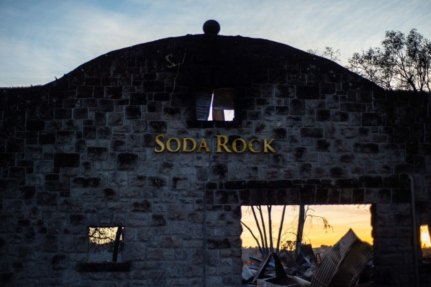 Soda Rock Winery Back Open After Kincade Fire