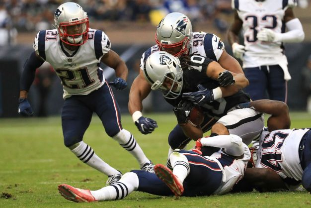 Raiders Go South in Loss to Patriots