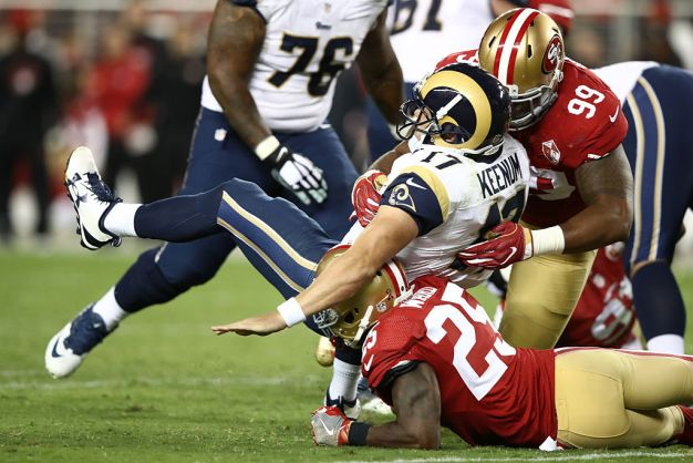 Niners' Buckner Emerged as Top Rookie in NFC West