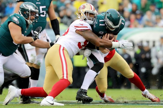 Niners May Rush Buckner From the Outside
