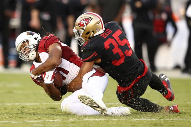Niners' Reid is Getting a Chance to Excel