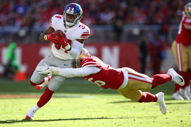 Reuben Foster's Terrific Play is Earning Raves