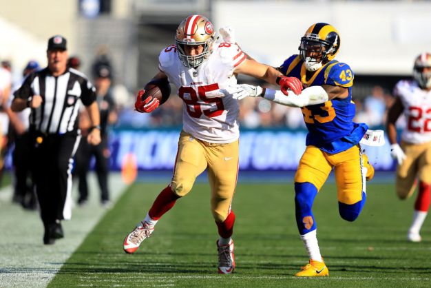 Kittle Eager to Build on Strong Rookie Season
