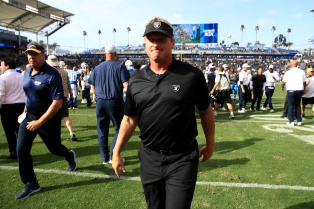 Gruden Says His 'Fingerprints' Are on Raiders' Problems