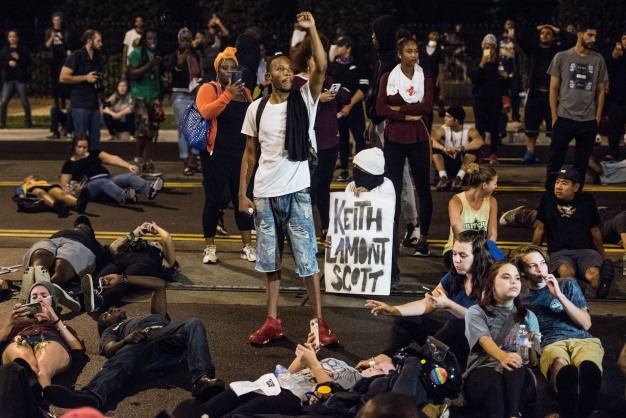 Protests Continue Amid Shooting Death of Keith Lamont Scott