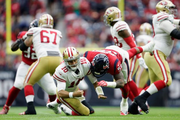 49ers Face Challenge of Protecting Garoppolo Over 3 Games
