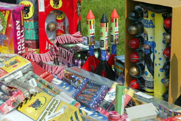 Police Confiscate 2,700 Pounds of Fireworks in San Jose