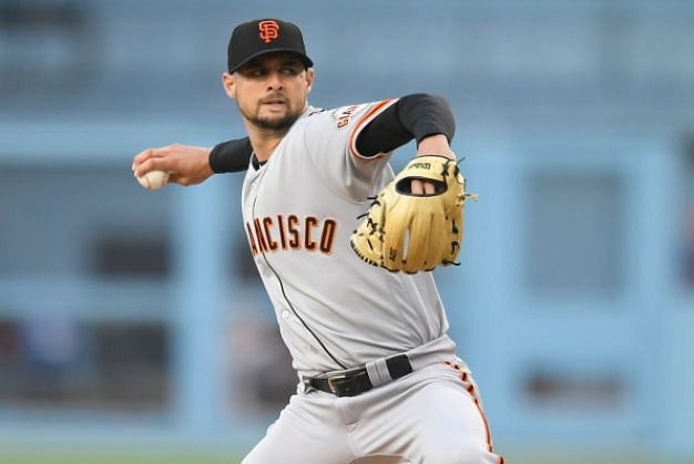 Tyler Beede, Giants Top Rival Dodgers in LA