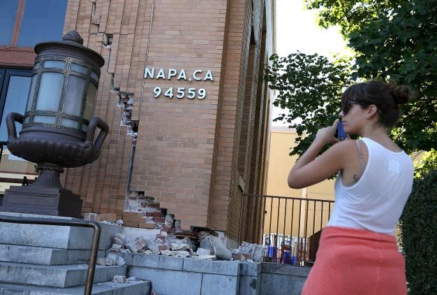 Quakes, Aftershocks Strike South Napa Region