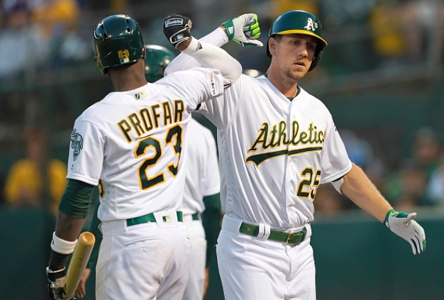 A's Stymie Rangers to Snap Three-Game Slide
