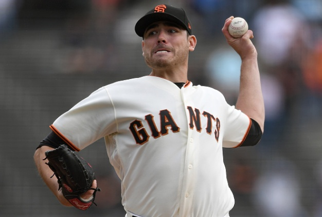 Moore Marvels as Giants Shut Out Rockies, Complete Sweep