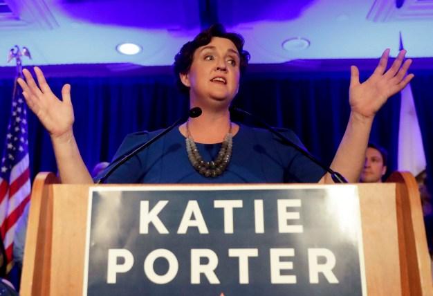 Democrat Katie Porter Flips GOP House Seat in Orange County