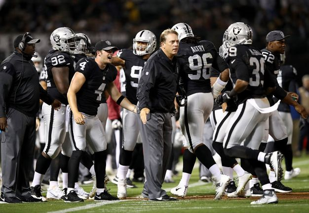Raiders' Road to Playoffs is a Tough One