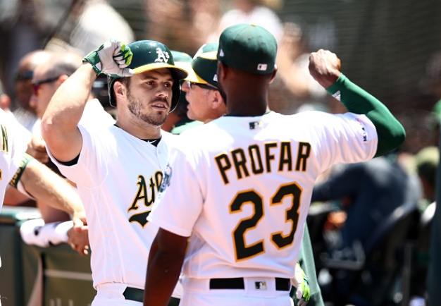 A's Top Orioles to Complete Three-Game Sweep