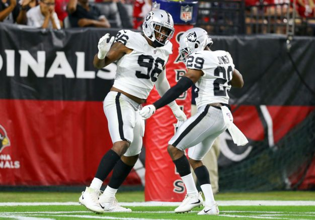 Raiders' Defense Has Received an Injection of Speed