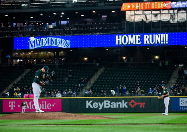 A's Fall to Mariners For Third Straight Loss