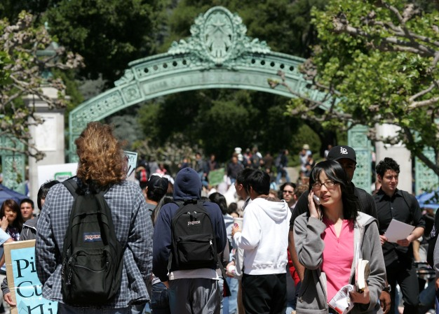 UC Berkeley Protest Over Looming Layoffs