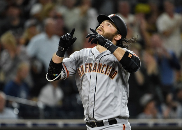 Giants Show Some Muscle in 4-2 Win Over Padres