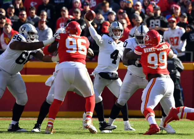Raiders' Offensive Woes Will Have to be Addressed