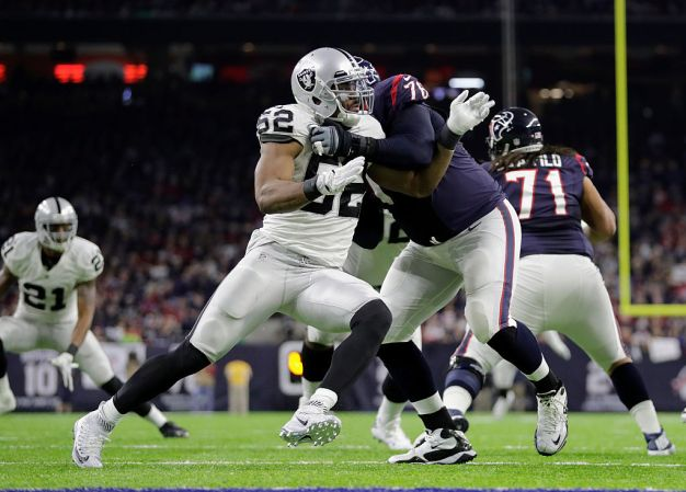 Raiders' Mack Selected as NFL's Top Defensive Player