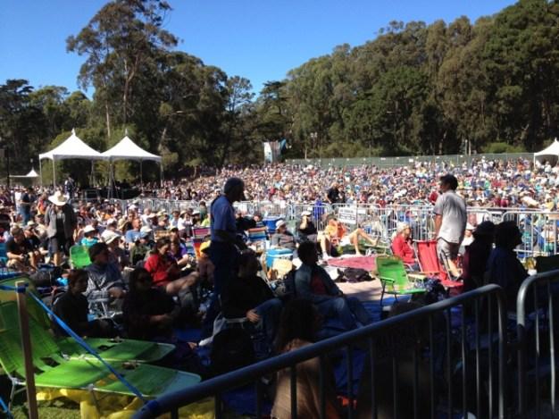 Despite Traffic Fears, Crowds Have Blast in SF