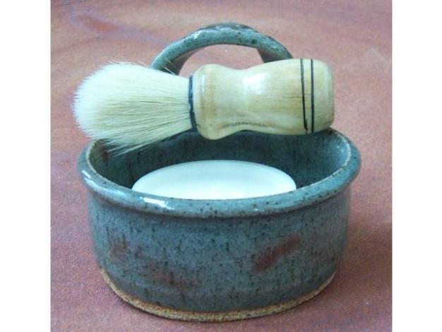 Modern Shaving Mug Set