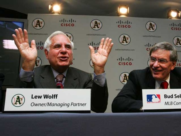 A's Managing Partner Lew Wolff Stepping Down