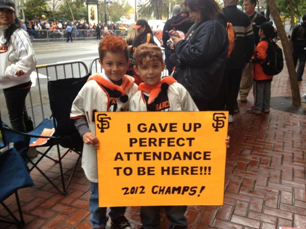 Viewer Photos: Giants Parade