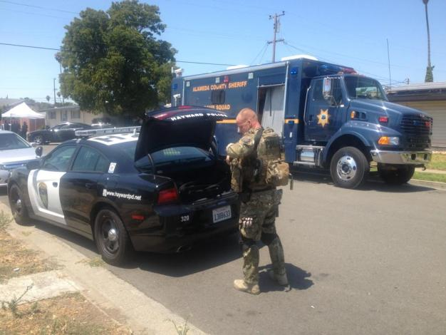 No Explosives Found Inside Hayward Home