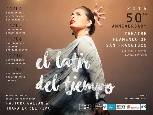 Theatre Flamenco Celebrates 50th Anniversary with Spectacular Performances