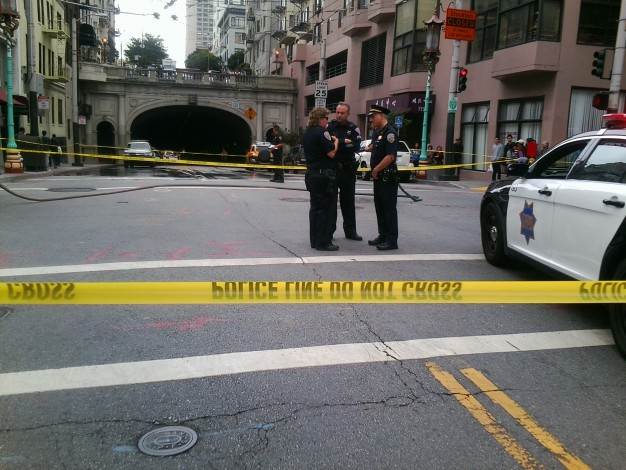 Woman Struck, Killed in Collision Near Stockton Tunnel