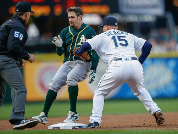 A's Thumped by Lind, Mariners