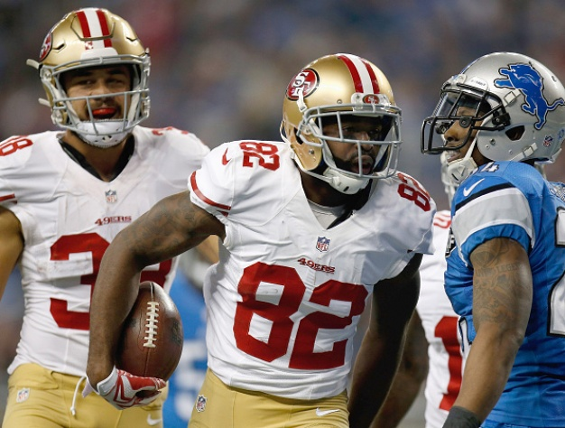 Niners' Torrey Smith Could Thrive in Kelly's Offense