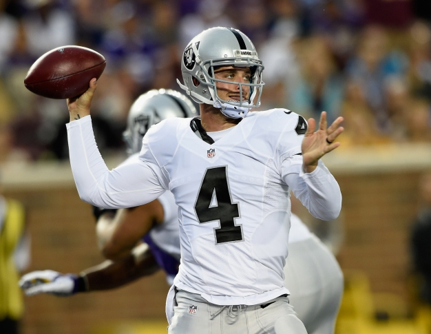 Raiders Get a Glimpse of What Carr-to-Cooper Can Mean
