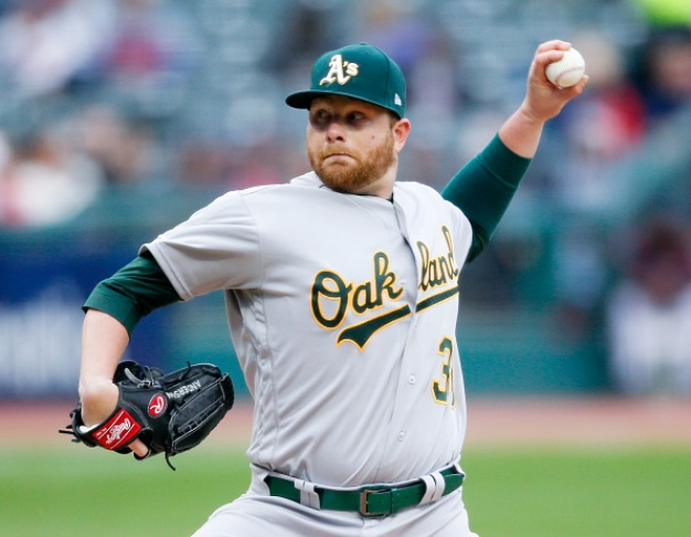 Chapman Drives in Three to Lead A's Past Indians