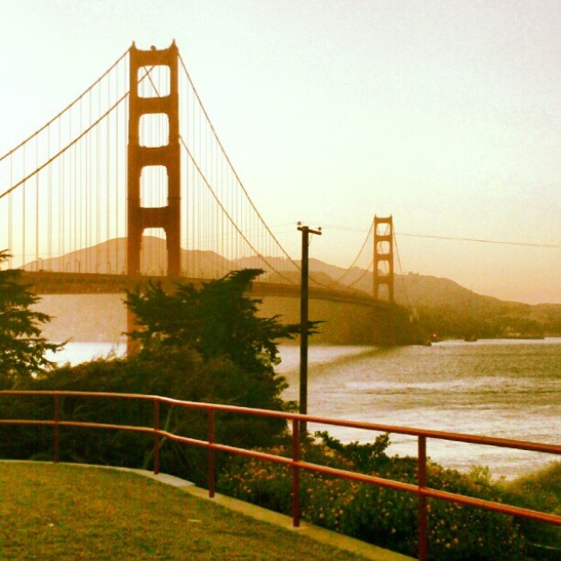 Photos of the Golden Gate Bridge via Instagram