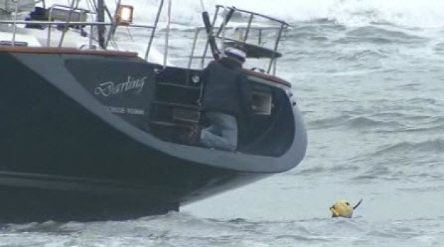 Distressed Sailboat Stolen From Sausalito