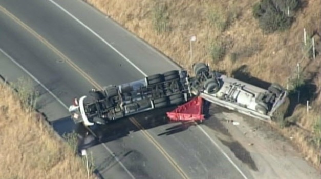 [BAY] Tanker Spill Closes Sir Francis Drake in Marin Co.