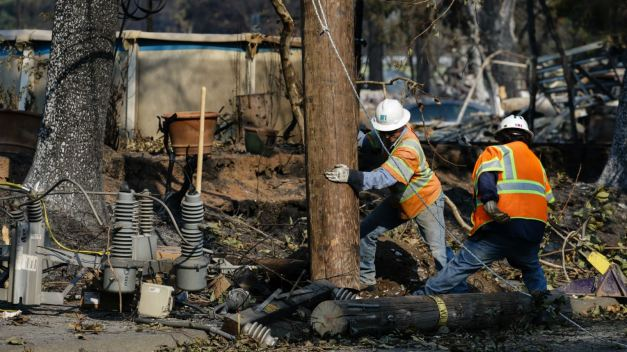 Sonoma, Napa County Won't Prosecute PG&E for 2017 Wildfires