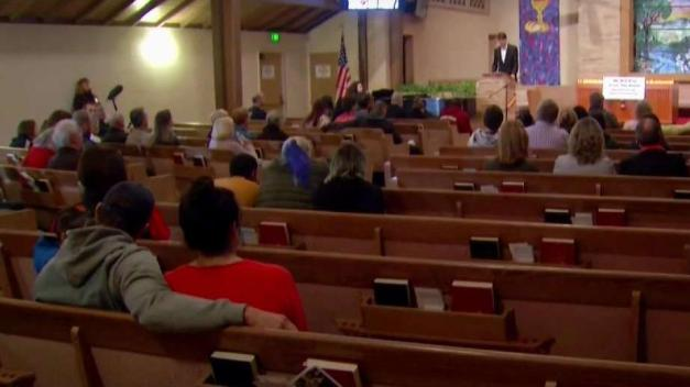 Survivors of the Camp Fire Gather to Hold Vigil For Victims