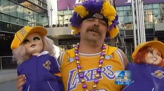 "[LA] Lakers Fans ""Very Happy,"" Not Surprised Over Brown's Firing"