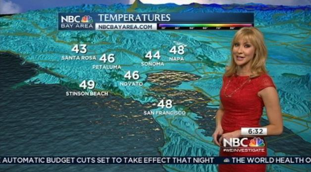 [BAY] Beautiful Beach Weather Thursday; Rain & Cold Ahead