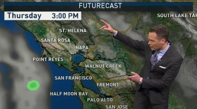 [BAY] Jeff's Forecast: Clouds Increase & Rain Soon