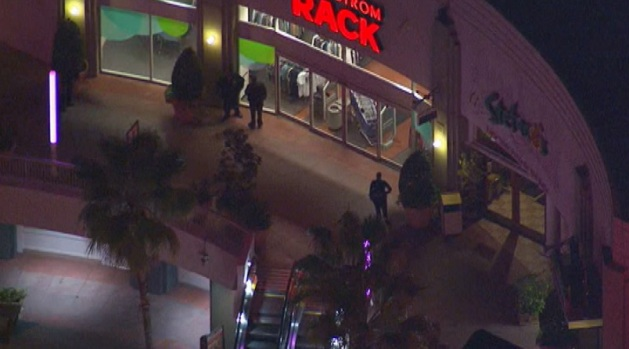 [LA] Robbers Who Took Hostages at Nordstrom's Still on the Loose
