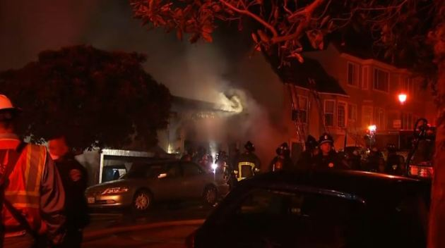 3-Alarm Fire in San Francisco's Inner Sunset Leaves 1 Dead