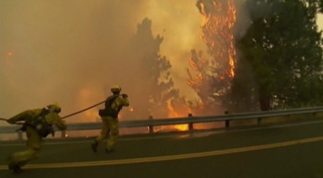 [BAY] Red-Flag Warning Puts Firefighters on High Alert