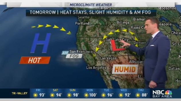 Jeff's Forecast: Heat and Fire Near Shasta