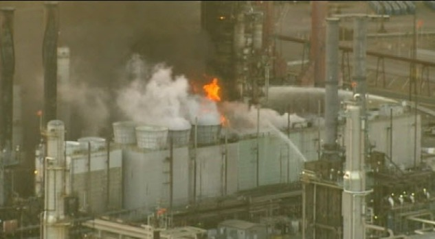 [BAY] Not the First Fire at Chevron Refinery